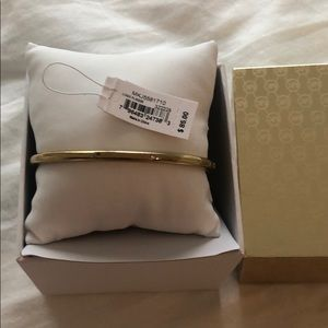 Michael Kors Yellow Gold Clasp Bracelet